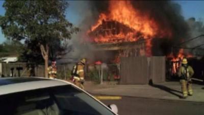 Camile Street fire