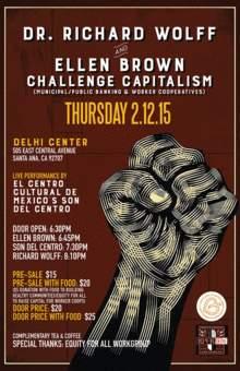 Dr. Wolff & Ellen Brown Challenge Capitalism