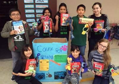 Santiago Elementary's RAK Club