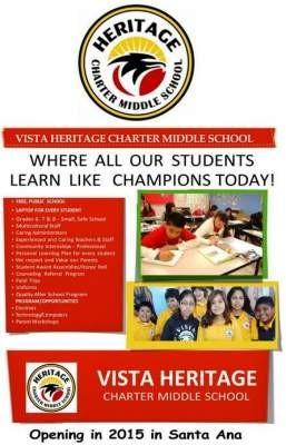 Vista Heritage Charter School