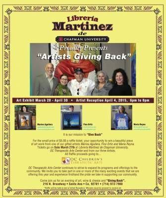 Libreria Martinez Fundraiser