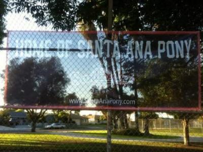 Santa Ana Pony baseball