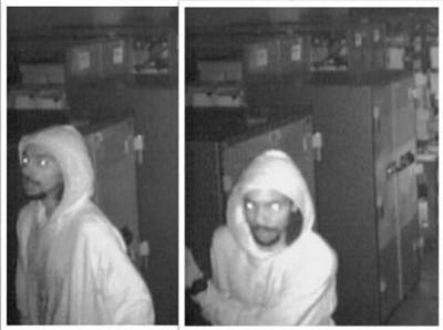 Burglars at Alltech Electronics