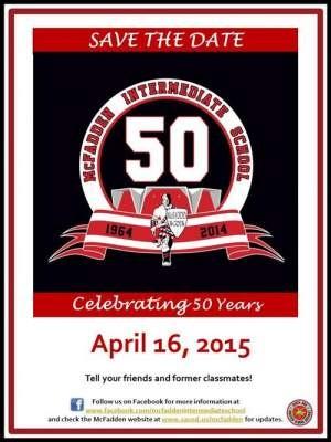 McFadden's 50th Anniversary