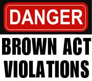 RSCCD Brown Act Violations