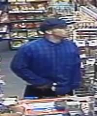 Santa Ana Shell Station robber