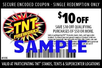 TNT coupon sample