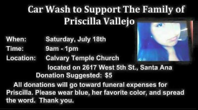 Car Wash for Priscilla Vallejo