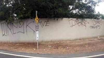 More Tagging in Santa Ana