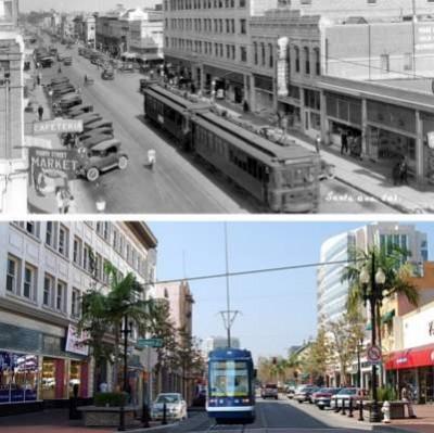 Original Santa Ana Streetcar