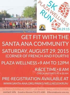 Santa Ana 5K run