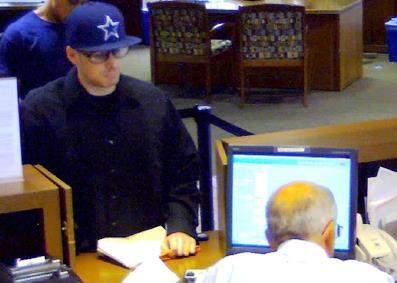 Santa Ana robbery suspect