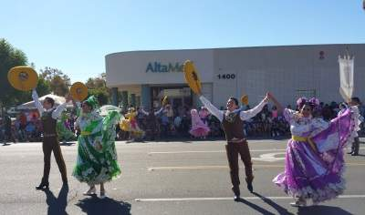 More dancers at the Fiestas Patrias Parade