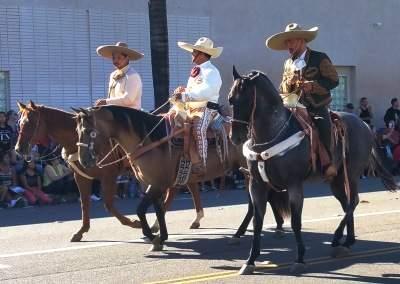 Vaqueros at the Fiestas Patrias Parade