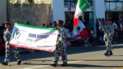 Juan Godoy at the Fiestas Patrias Parade