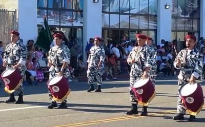 Drummers at the Fiestas Patrias Parade