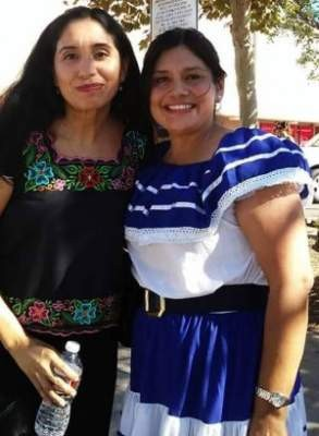 Angie Amezcua and Ceci Iglesias