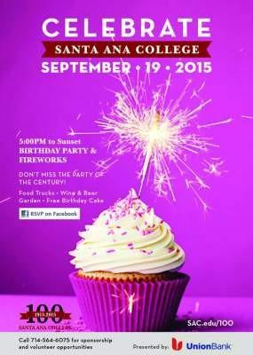 Celebrate Santa Ana College's birthday