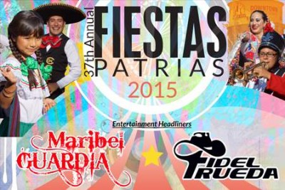 Fiestas Patrias 2015 in Santa Ana