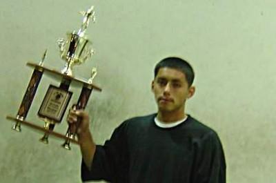 Irvin Tellez was an award winning handball player when he was 17 years old