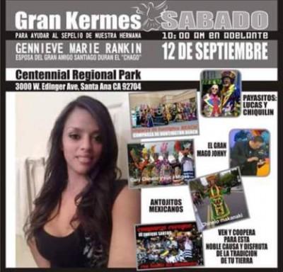 Kermes for Gennieve Marie Rankin