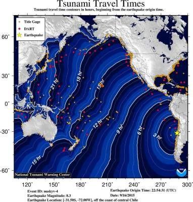 OC Tsunami Alert
