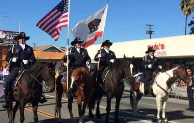 Santa Ana Police on Horses