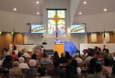 Santa Ana's new Celebration Church