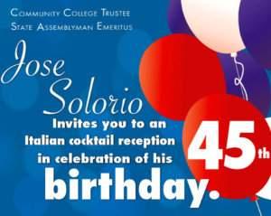 Solorio's Birthday