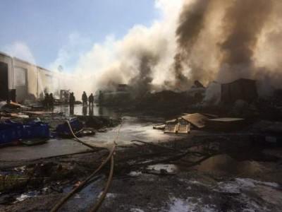 Santa Ana Plastics Fire