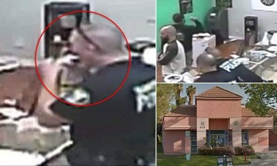 Santa Ana cops shown 'eating marijuana edibles