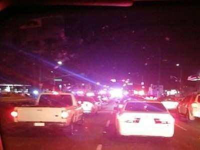 Santa Ana police pursuit on Nov