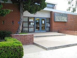 Davis Elementary School in Santa Ana