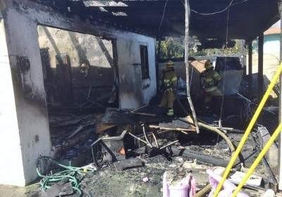 Fire at 2000 south hickory in Santa Ana 2