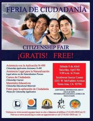 Santa Ana Citizenship Fair