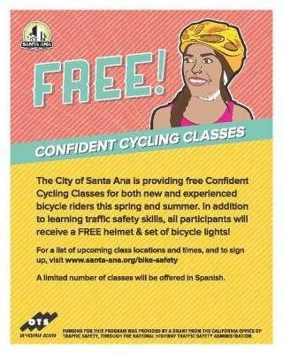 Santa Ana Confident Cycling Class