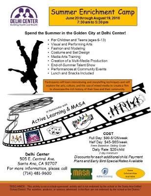 Delhi Summer Day Camp