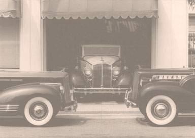 Old Packards in Santa Ana
