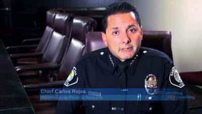 SAPD Police Chief Carlos Rojas