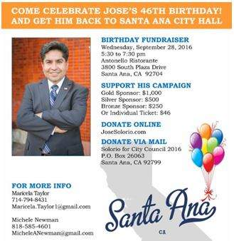 Jose Solorio Fundraiser