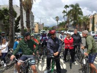 New Santa Ana Gardens Bikeway