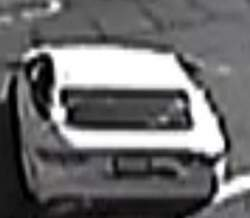 Santa Ana purse snatcher suspect's car