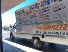 Stolen Fiesta Rentals Uhaul Truck