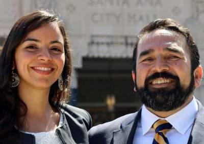 Ana Urzua Alcaraz and Benjamin Vazquez