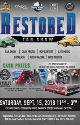 New Santa Ana | Restored Car Show set for Sep. 15 in Santa Ana on lowrider bus, lowrider go cart, car cart, lowrider atv, lowrider shopping cart, lowrider power wheels,